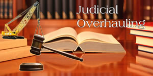 "Long Overdue ""Judicial Overhauling"" Gaining Momentum"