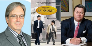 What do Billionair Greg Whitten, Geat-West Financial and the movie The Rainmaker have in common?